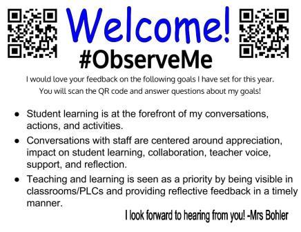 #ObserveMe- Bohler